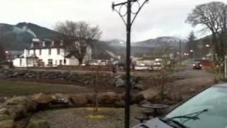Winter evening in Lochgoilhead Argyll
