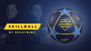 SkillTwins Introducing: The SkillBall - Ultimate Ball for Football, Freestyle & Street