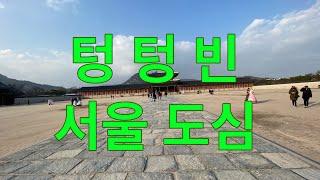 비디오 르포/숨죽인 서울 도심을 가다!