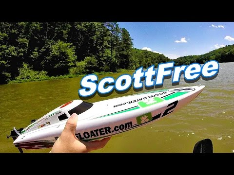 HobbyKing ScottFree Race Boat Driving and Racing Around - TheRcSaylors