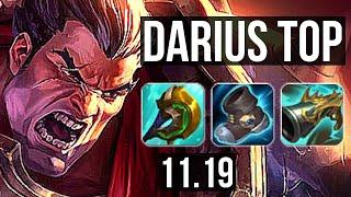 DARIUS vs POPPY (TOP) (DEFEAT) | Quadra, 1.8M mastery, 600+ games | KR Diamond | v11.19