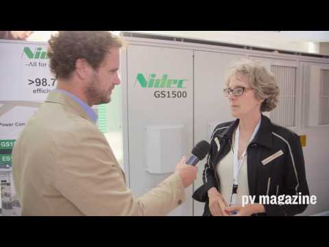 Interview @ Intersolar Europe 2017: Nidec ASI talks grid connected storage in Europe