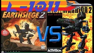 Earthsiege 2 vs MechWarrior 2 (Training)