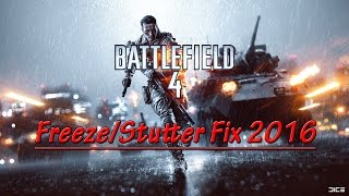 Battlefield 4 Freeze Fix 2016