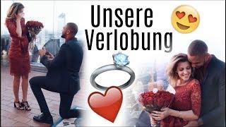Unsere Verlobung in NewYork ♡ Sarah Nowak & Dominic Harrison