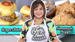 [Judy Ann's Kitchen 18] Ep 4: Homemade Nuggets and Burger Sliders