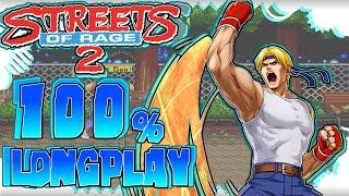 Sega Mega Drive Longplay 100%   Streets of Rage 2 [1080p 50fps] - 2016