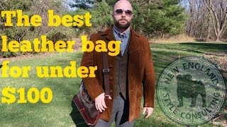 The best leather bag for under $100