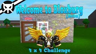 4 x 4 Haus Challenge- Willkommen in Bloxburg [BETA] ROBLOX