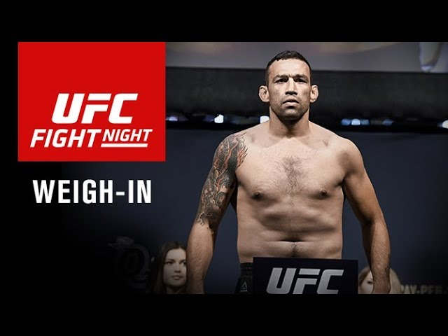 UFC Fight Night Sydney: Official Weigh-in Results and Video Stream