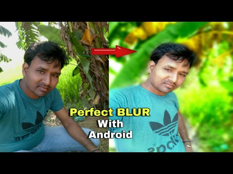 How To BLUR Photo Background Like DSLR | Photo Ka Background BLUR Kaise Kare With Android Mobile