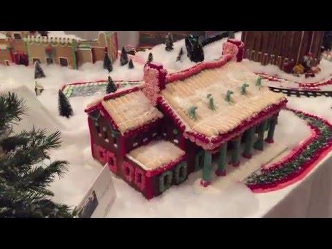 The Hotel At Auburn University's Gingerbread Village 2015