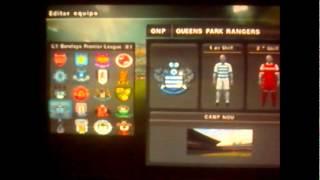 Escudos y camisetas liga inglesa 2012/2013 (solo algunas)