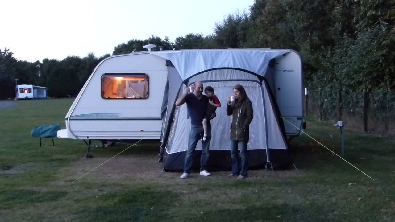 Kampa Rapid Air 260 Caravan Awning Youtube