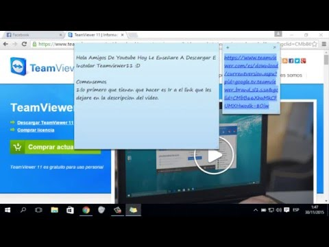 Como Descargar E Instalar Team Viewer 11 Full+Crack 2015