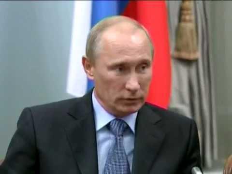 Meeting between David Cameron and Vladimir Putin, 12 September 2011 (RT video)