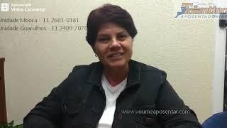 Tolentino Aposentadorias - Depoimento de Sandra Regina