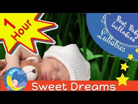 1HR RAIN Songs Put Baby To Sleep Lyrics-Baby Lullaby Lullabies Bedtime Relaxing Music Rain Falling