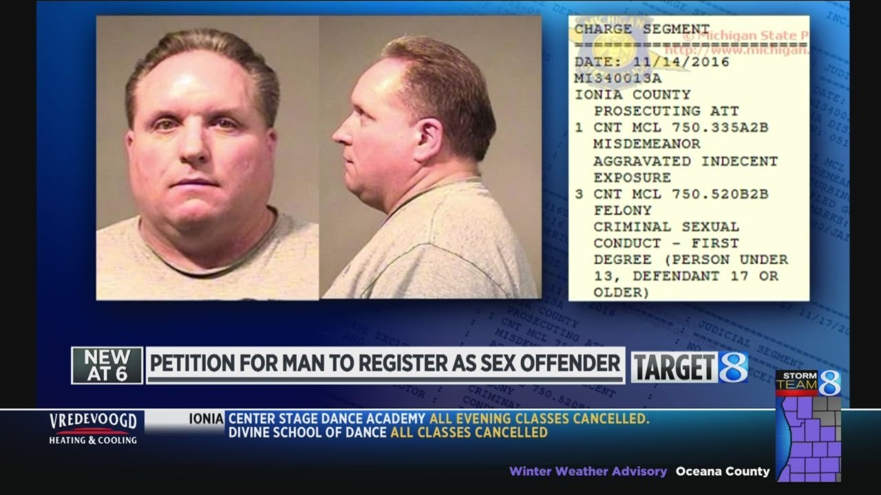 What crimes make a person a sex offender
