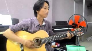 Guitar Thành phố buồn - Đinh Ngọc Huy - Lớp Nhạc Dấu Chấm Đen