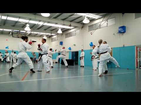 Brisbane Goju August Grading - Kumite