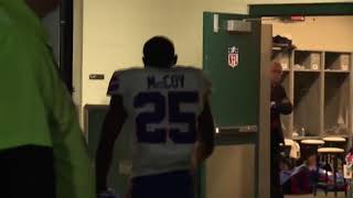 LeSean McCoy loses his cool after loss to Jaguars (2018)