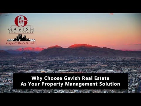 Why Choose Gavish Real Estate as Your Property Management Solution?