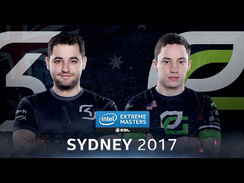 CS:GO - SK vs. OpTic [Overpass] Map 2 - Semifinal - IEM Sydney 2017