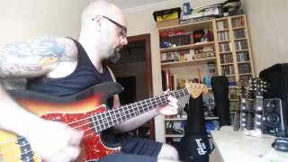 the police synchronicity II bass cover