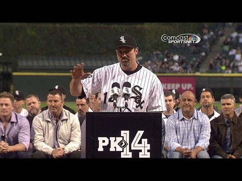 KC@CWS: White Sox honor Konerko with pregame ceremony