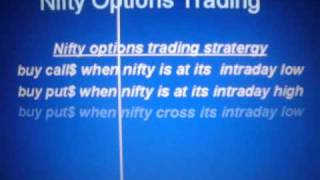 Nifty options trading 4 simple strategies
