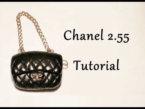 tutorial borsa chanel in fimo polymer clay chanel. Black Bedroom Furniture Sets. Home Design Ideas