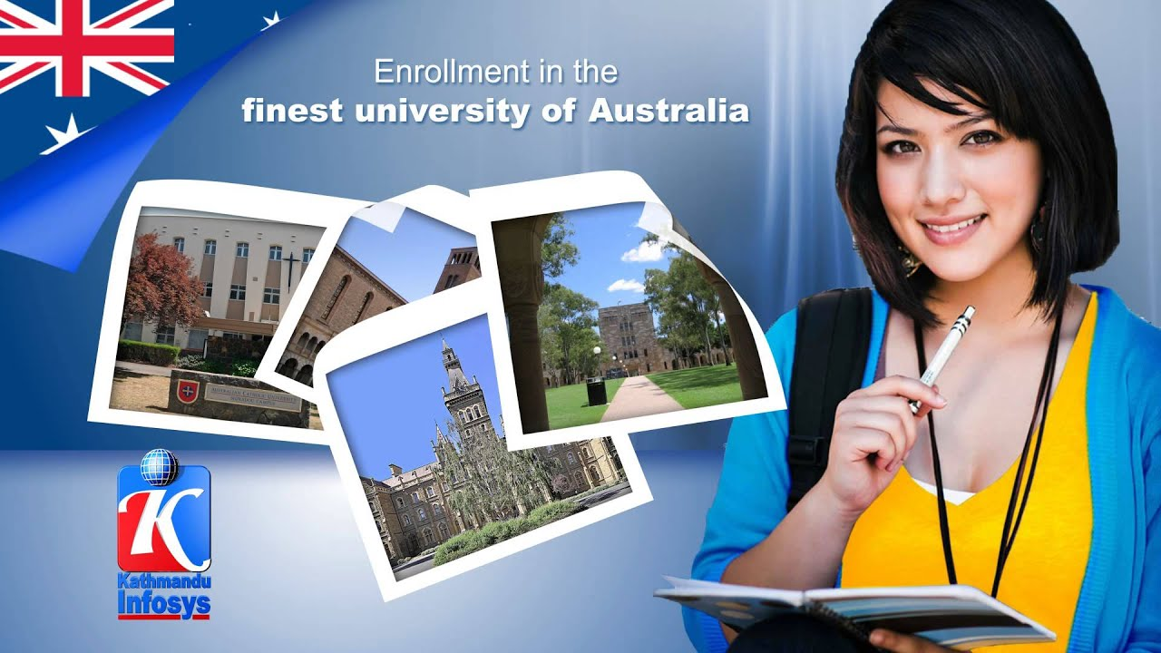 Study in Australia from Nepal Kathmandu Infosys - YouTube