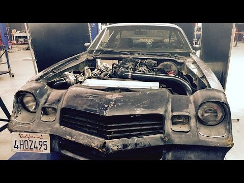 Cheap V-8 Turbo Build! LS-Turbo #Bonemaro! - Hot Rod Garage Ep. 38