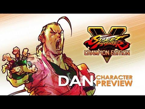 Street Fighter V: Season V - Dan Character Preview