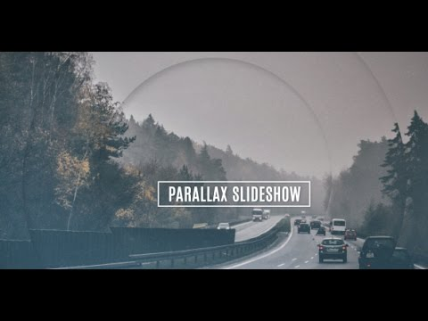 FREE After Effects Template - Parallax Slideshow - YouTube