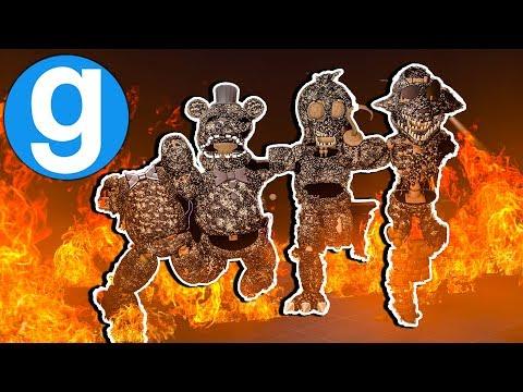 Final Nights 2 Burned Animatronics Pill Pack! Five Nights at Freddy's Gmod FNAF Garry's Mod Sandbox thumbnail