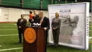 Sen. Chuck Schumer at NUAIR press conference, Video 2