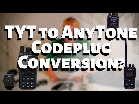 Can TYT Radio Codeplugs be Used in AnyTone DMR Radios? - YouTube