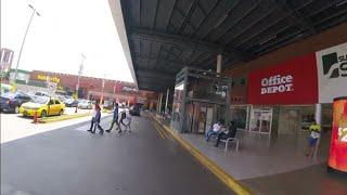 Centros comerciales Multiplaza, Las cascadas y La Gran via anitiguo cuscatlan EL SALVADOR