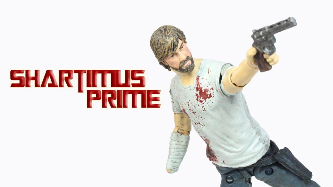 The Walking Dead Rick Grimes Comic Series 3 Image Comics Action Figure Review