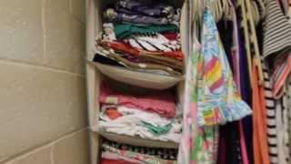 Dorm Closet Tour Thumbnail