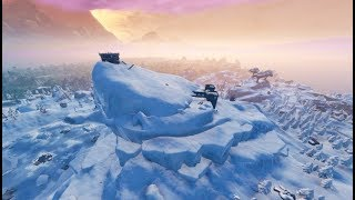 'NEW'MASSIVE POLAR PEAK CRACKING HAPPENING RIGHT NOW (Fortnite Battle Royale Live)