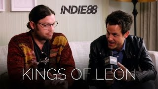 Bookie catches up with Kings of Leon before their tour stop in Toro...