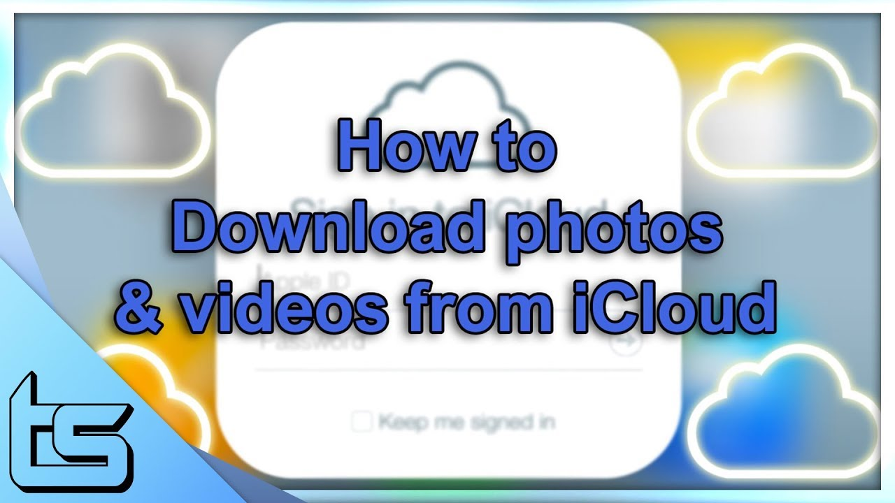 iCloud - How to download all your photos & videos