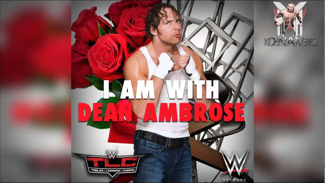 poster wwe tlc 2014 dean ambrose youtube