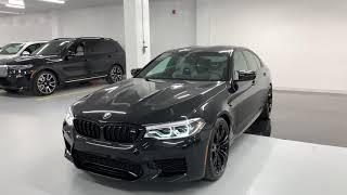 2019 BMW M5 Competition - Revs + Walkaround