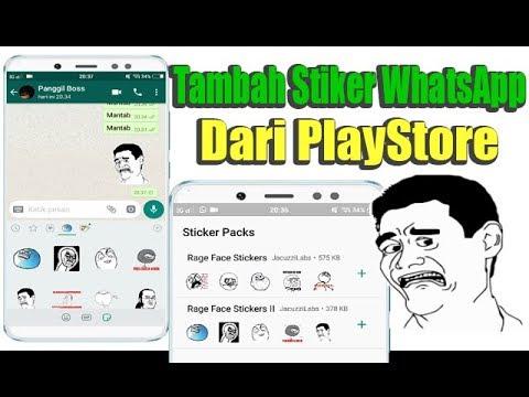 Cara Menambah Sticker Meme Lucu Di Whatsapp Melalui Playstore