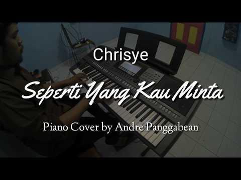 Seperti Yang Kau Minta - Chrisye   Piano Cover by Andre Panggabean
