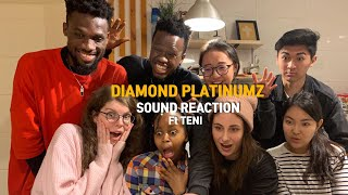 Diamond Platnumz Ft Teni - Sound (Reaction Video In Swahili)